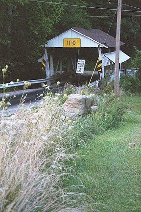 Rock Mill Bridge, Fairfield County, Ohio.  Photo ca 2001 by D. Beckham
