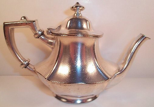 William Foor Hotel teapot sold on ebay; photo used with permission